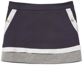 Moncler Cotton Elasticized Skirt