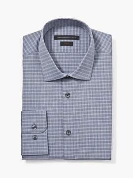 John Varvatos Slim Fit Dress Shirt With Underplacket Trim