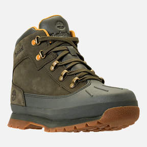 Timberland Girls' Grade School Euro Hiker Shell Toe Boots