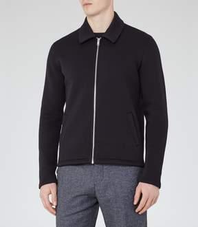 Reiss Decoy Zip-Front Jacket