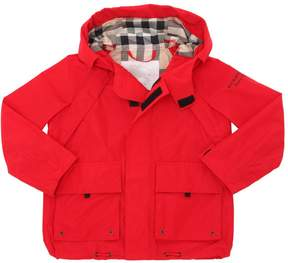Burberry Nylon Gabardine Jacket