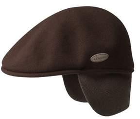 Kangol Men's 504 Wool Earlap Flat Cap.