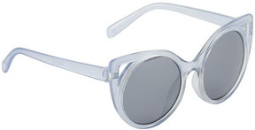 Molo Kids' Super Star Translucent Cat-Eye Sunglasses