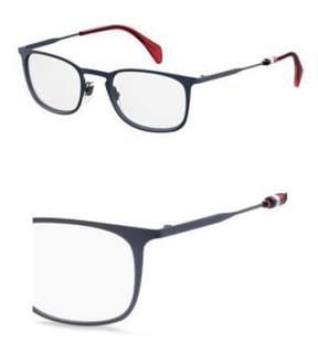 Tommy Hilfiger Eyeglasses Th 1473 0RCT Matte Blue