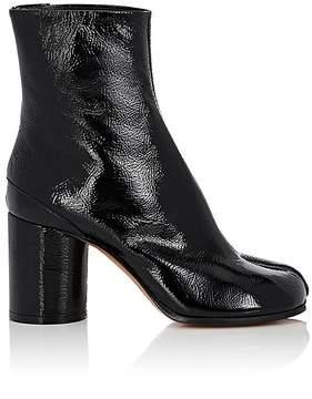 Maison Margiela Women's Tabi Patent Leather Ankle Boots