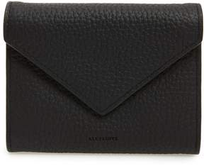 AllSaints Voltaire Envelope Leather Card Case