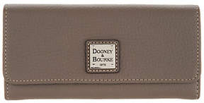 Dooney & Bourke Pebble Leather AccordionClutch Wallet - ONE COLOR - STYLE