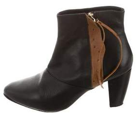 Rebecca Minkoff Round-Toe Ankle Boots