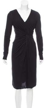 Strenesse Long Sleeve Midi Dress