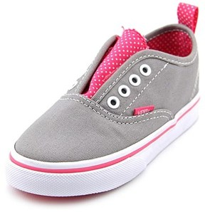 Vans Authentic V Round Toe Canvas Sneakers.
