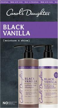 Carol's Daughter Black Vanilla Moisture & Shine Hair Care Gift Set