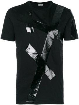 Christian Dior tape effect T-shirt