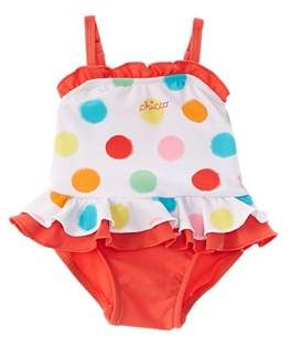 Chicco Girls' White One-piece Swimsuit.
