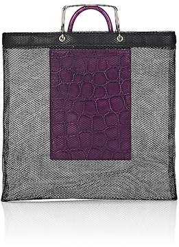 Givenchy WOMEN'S MESH TOTE BAG & CROCODILE MINI BAG
