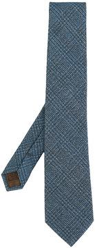 Church's cross hatch patterned tie