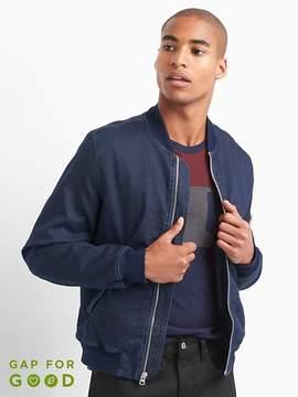 Gap Denim bomber jacket