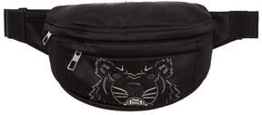 Kenzo Black Limited Edition Holiday Tiger Bum Bag