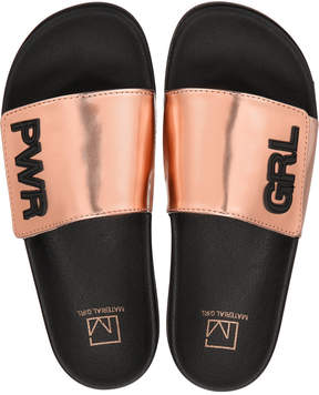 Material Girl Paige Pool Slides, Created for Macy's Women's Shoes