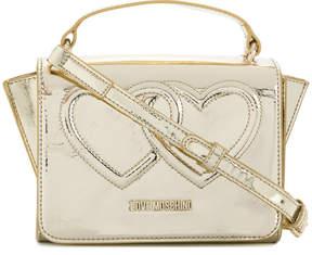 Love Moschino double heart crossbody bag