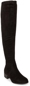 Madden-Girl Black Prissley Over The Knee Boots