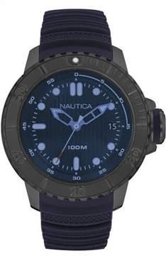Nautica MEN'S WATCH NMX DIVE STYLE DATE 50MM