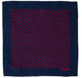 Hermes Silk Nautical Print Pocket Square