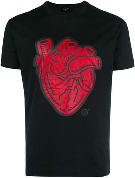 DSQUARED2 heart-print T-shirt