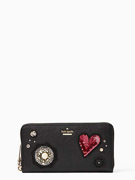 Kate Spade Finer things embellished lacey - BLACK - STYLE