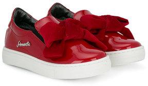 Simonetta bow detail slip-on sneakers