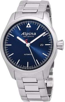 Alpina Startimer AL-525N4S6B Stainless Steel Blue Dial Automatic 45mm Mens Watch