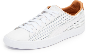 Puma Select Clyde Colorblock Leather Sneakers