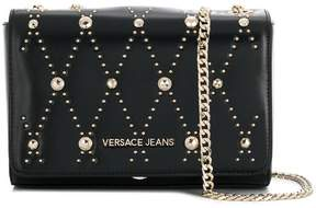 Versace studded chain crossbody bag