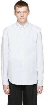 Acne Studios Grey Oxford Isherwood Shirt