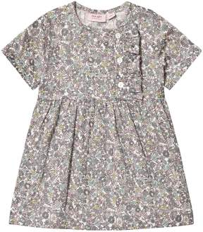 Mini A Ture Noa Noa Miniature Multicoloured Floral Printed Knee Length Dress