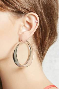 Forever 21 Wide Hoop Earrings