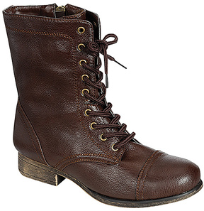 Bamboo Brown Surprise Combat Boot