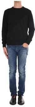 Trussardi Men's Black Cotton Sweater.