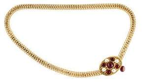 Chanel Medallion Embellished Chain Belt