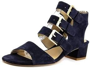 Adrienne Vittadini Womens Laira Open Toe Casual Strappy Sandals.