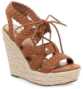 Mossimo Women's Helia Platform Lace Up Espadrille Wedge Sandals