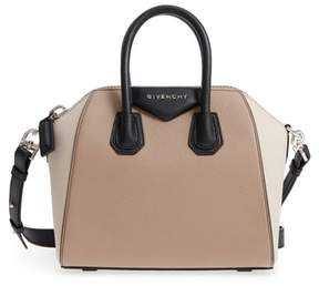 Givenchy Mini Antigona Tricolor Sugar Leather Satchel