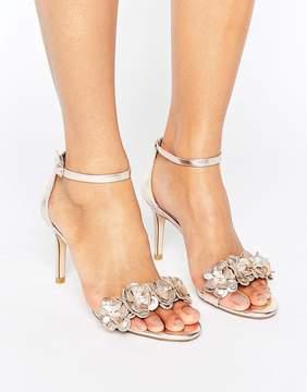 Dune London Magnolea Heeled Sandal With Applique