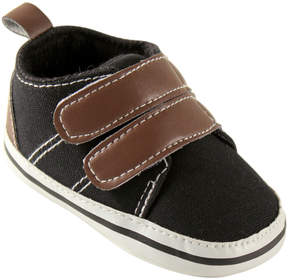 Luvable Friends Black & Brown Shoe - Boys