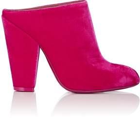 Givenchy Women's Pointed-Toe Velvet Mules