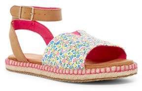 Toms Malea Multi Floral Ankle Strap Sandal (Little Kid & Big Kid)