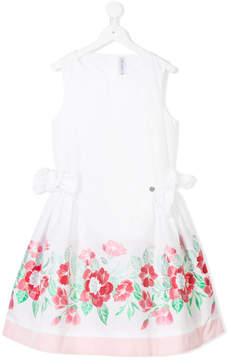 Simonetta TEEN floral party dress