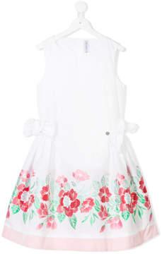 Simonetta TEEN floral party dress