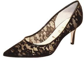 Butter Shoes Black Lace Pump