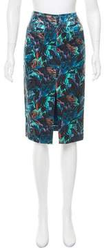 Antik Batik Printed Satin Skirt