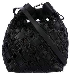 3.1 Phillip Lim Cutout Quill Bucket Bag
